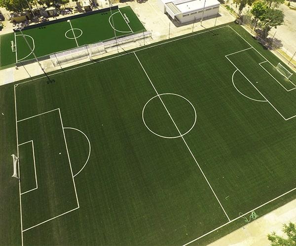 Construcción Pasto Sintético Estadio Nacional