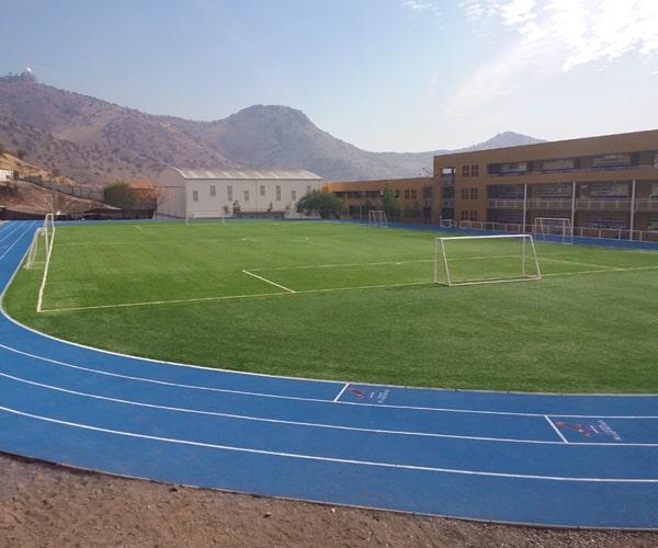 Construcción Fútbol y Pista Atlética
